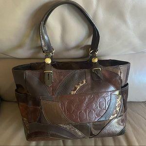 Authentic Coach patchwork purse!!